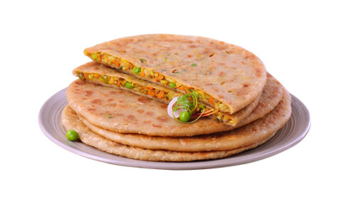 Mix Vegetable Paratha